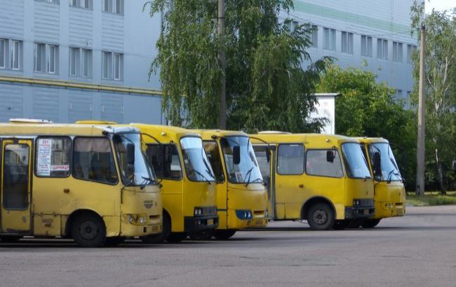 Фото: Автобусный парк №7 в Киеве (maxiwell83.livejournal.com)