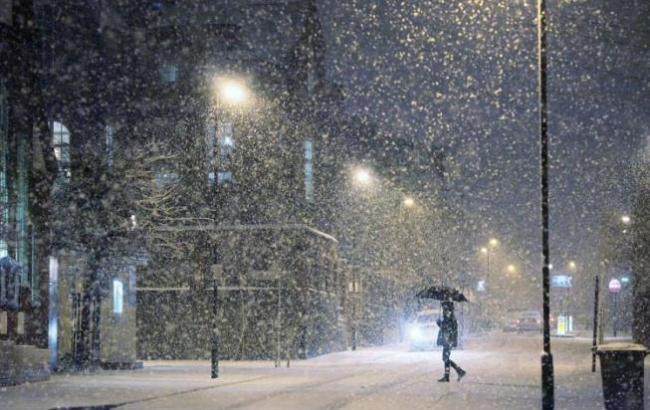 Фото: Снег с дождем (boosik - Блог.ру)