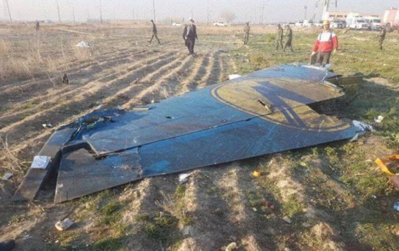 В Минобороны Ирана назвали виновного в катастрофе самолета МАУ