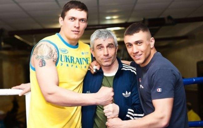 Фото: Усик и Ломаченко (XSPORT.ua)