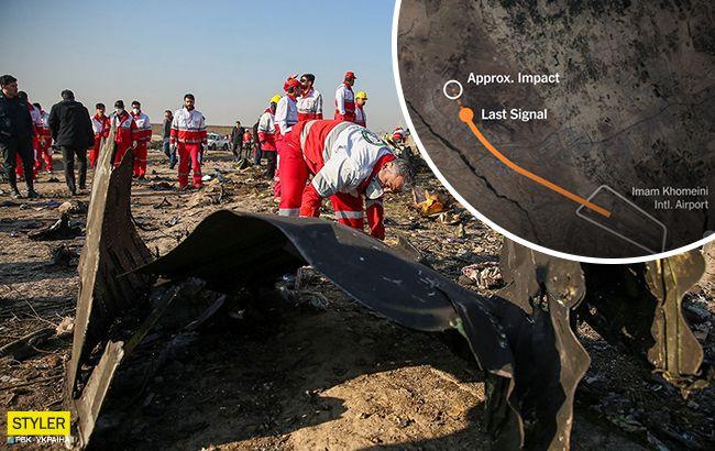 Авиакатастрофа МАУ в Иране: СМИ воспроизвели смертельный рейс в деталях