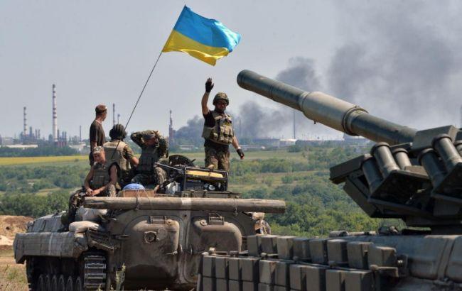 Фото: на Донбассе боевики снова атаковали украинский опорный пункт