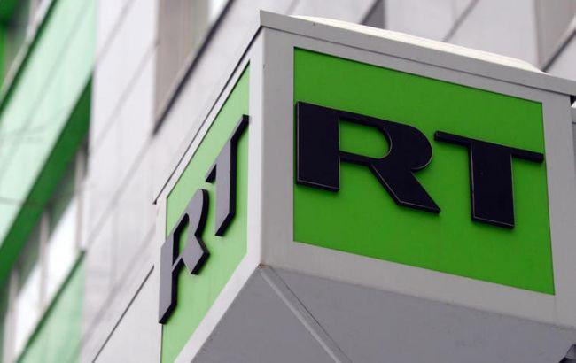 Фото: российскому каналу RT заблокировали счета в Британии