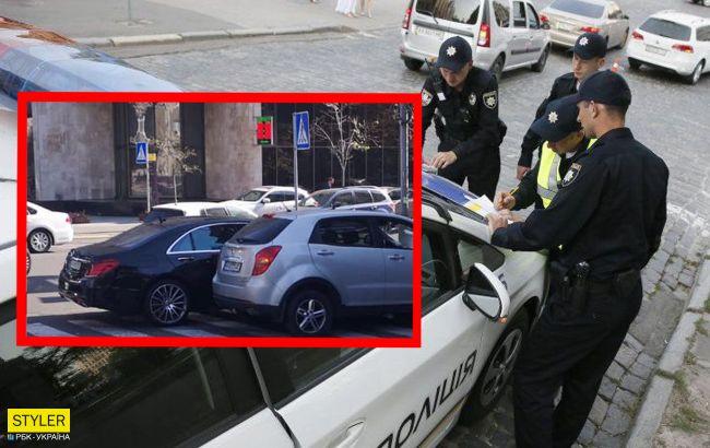 Сын Шуфрича попал в ДТП в центре Киева: детали и фото