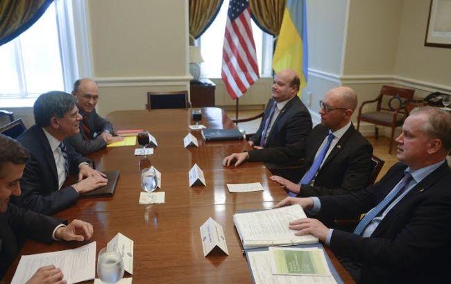 Реформы ГФС и таможни – одни из главных в дорожной карте между Украиной и США, - Яценюк