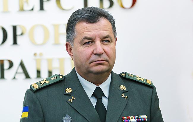 Полторак: Награнице с государством Украина РФсосредоточила 77 тыс. военных