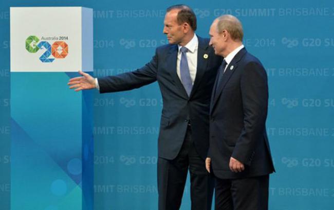 Пєсков спростував достроковий від'їзд Путіна з саміту G-20