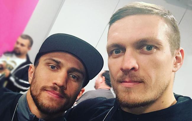 Фото: Ломаченко и Усик (usykaa/instagram)