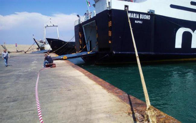 В итоге столкновения корабля спирсом 50 человек получили травмы