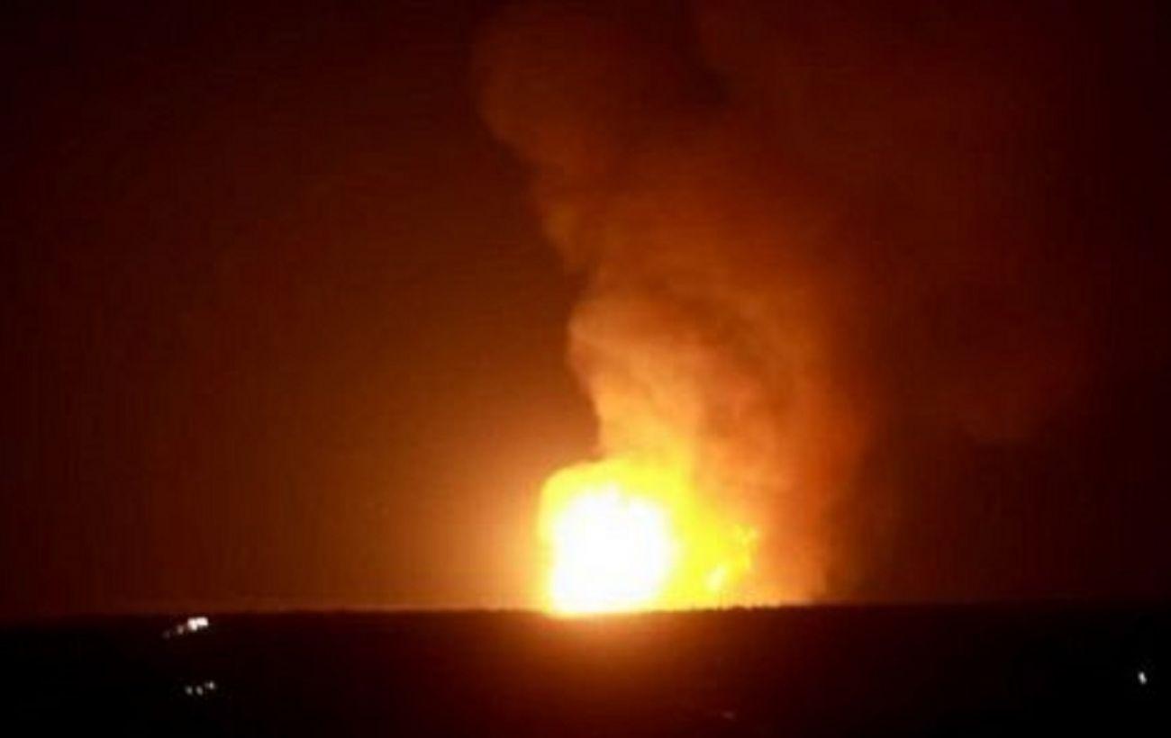 В центре Луганска произошел мощный взрыв на газопроводе