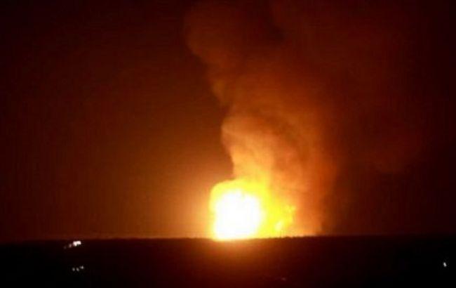 У центрі Луганська стався потужний вибух на газопроводі