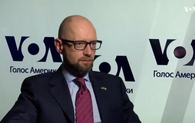 Яценюк призвал к объединению антироссийских санкций за Крым и Донбасс