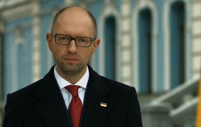 Фото: Арсений Яценюк о земельной реформе