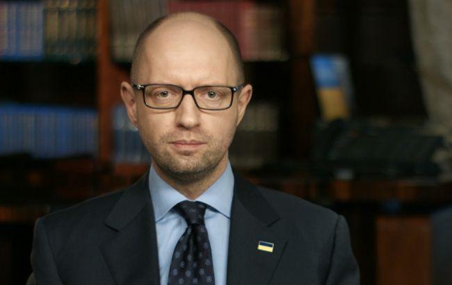 Яценюк объявил обуничтожении мафиозной коррупции «насамых верхах»