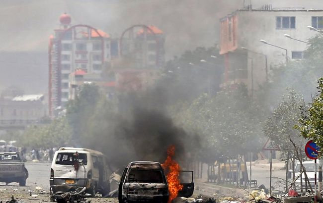 ВАфганистане 10 полицейских погибли в итоге теракта