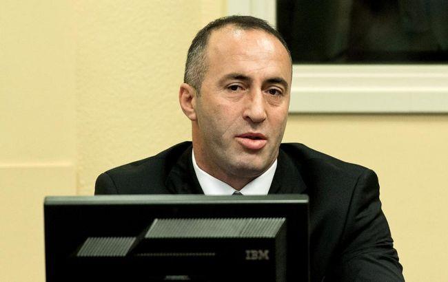 Фото: экс-премьер Косово Рамуш Харадинай