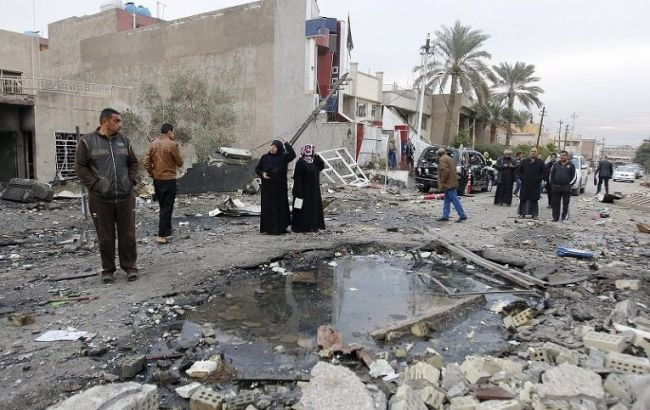 Фото: в Ираке недалеко от Багдада произошел теракт