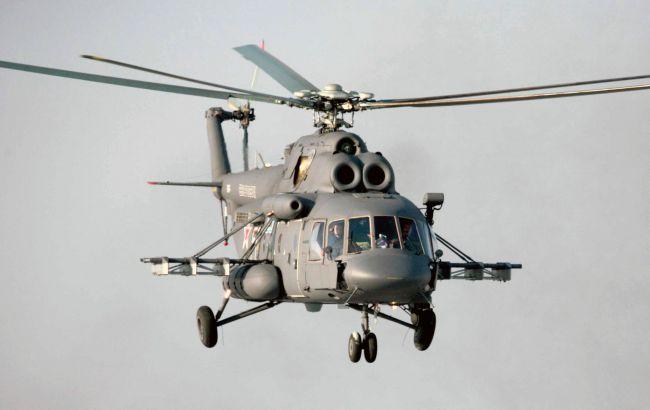Фото: российский вертолет Ми-8