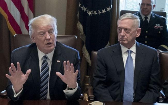 Трамп хоче змінити главу Пентагону, - NYT