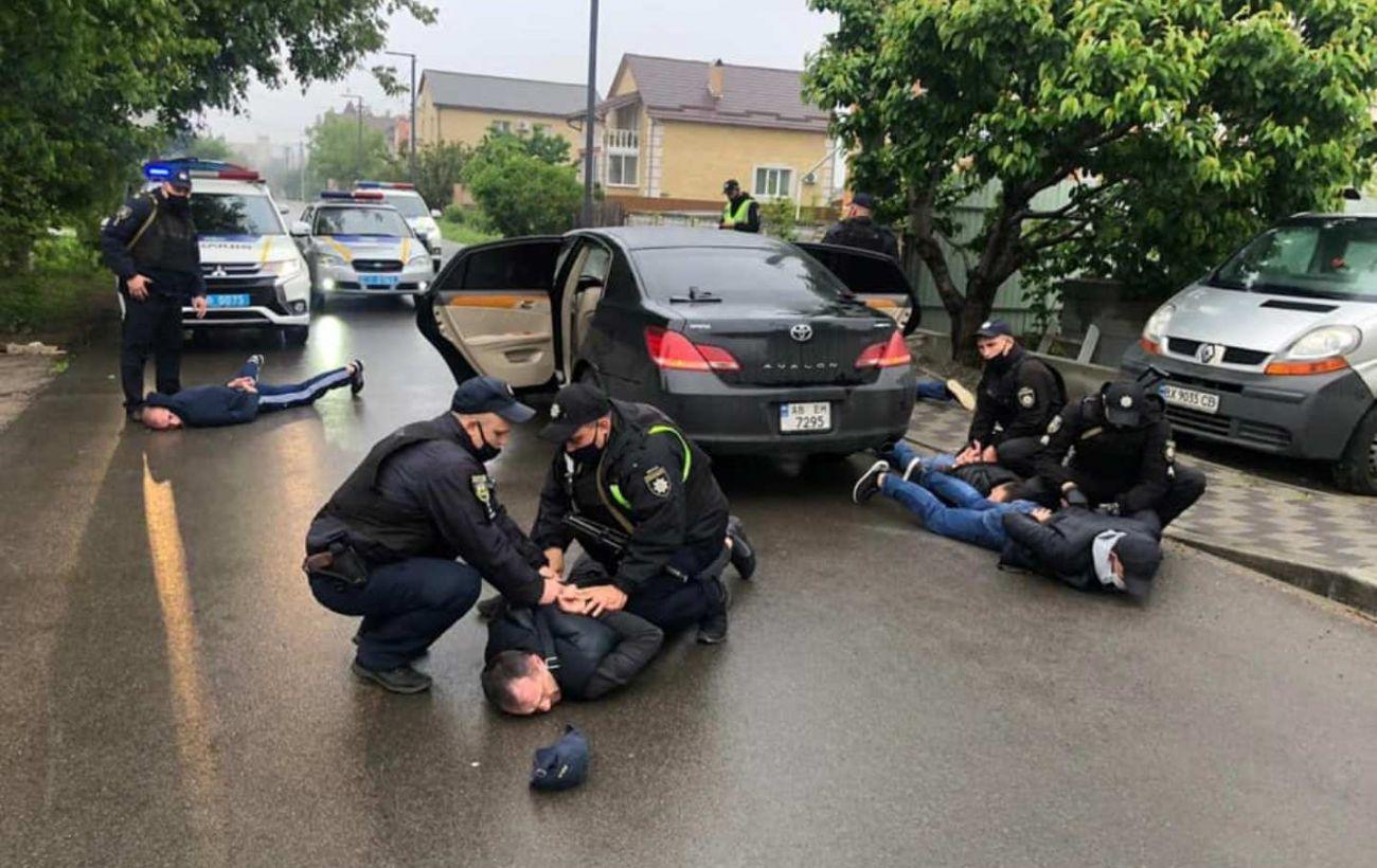 Учасники стрілянини у Броварах втекли на 5 автомобілях, - МВС