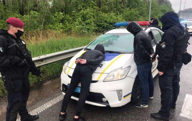 Нескольких участников перестрелки в Броварах задержали в двух областях