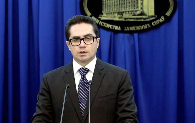 Фото: пресс-секретарь МИД Дмитрий Мирончик
