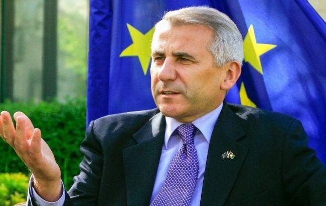 Фото: глава представительства ЕС в Москве Вигаудас Ушацкас
