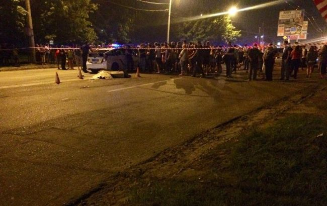Фото: полиция открыла уголовное производство по ч. 2 ст. 286