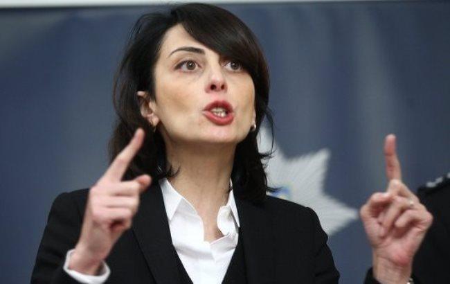 Фото: Начальник Нацполиции Хатія Деканоїдзе (rian.com.ua)
