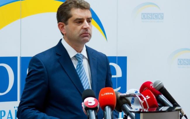Директор информационного департамента Министерства иностранных дел Украины Евгений Перебийнис
