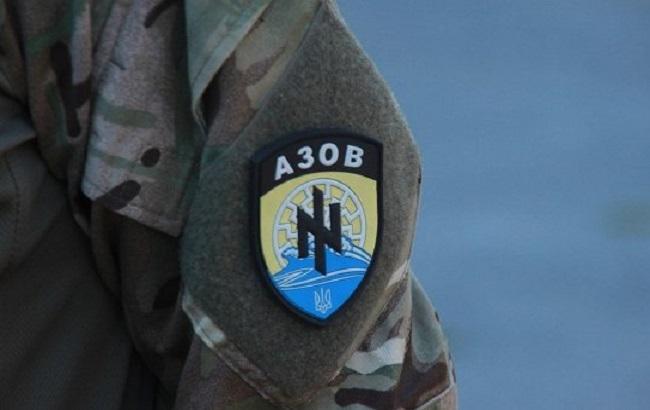 """Фото: шеврон полка """"Азов"""""""