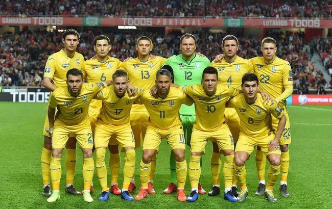 Сборная Украины узнала график матчей на Евро-2020