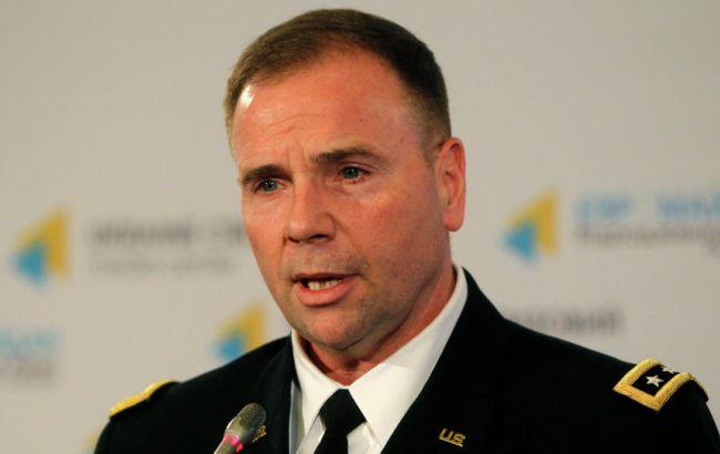 Фото: командующий сухопутными войсками США в Европе Бен Ходжес