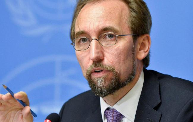 Фото: Верховный комиссар ООН по правам человека Зейд Раад аль-Хусейн