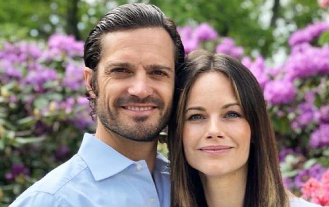 Принц Швеції Карл Філіп і принцеса Софія стали батьками втретє: перше фото новонародженого