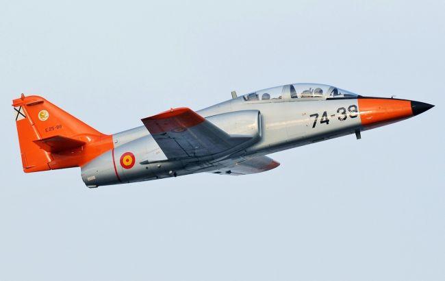 В Испании разбился военный самолет, есть жертва