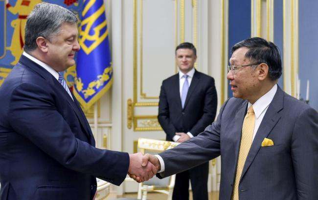 Порошенко дал старт Году Японии вУкраинском государстве