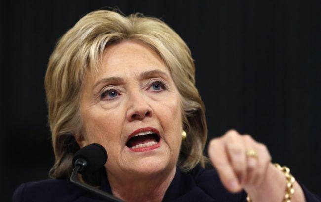 Фото: Клінтон звинувачує РФ в кібератаці