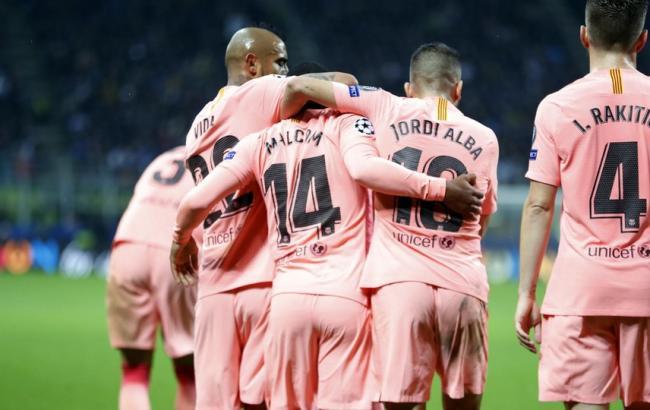 """""""Барселона"""" першою гарантувала собі вихід в плей-офф Ліги чемпіонів"""