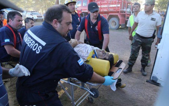 """Фото: авария на """"Дакаре"""""""