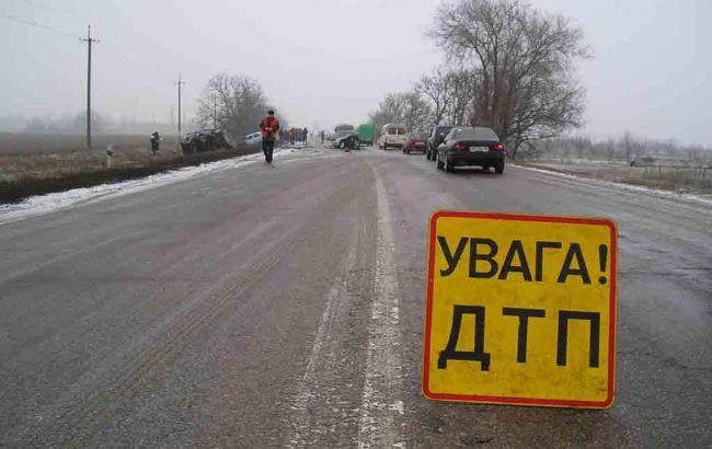Фото: на Волыни столкнулись 5 автомобилей