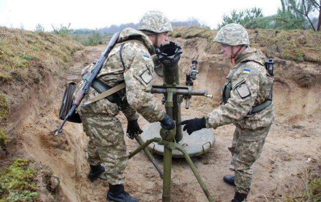 Фото: украинские войска на Донбассе получат новые минометы