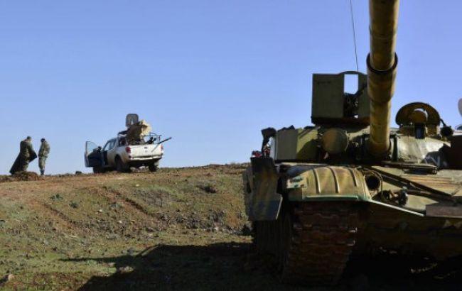 Фото: сирийские войска
