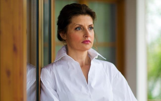 Фото: Марина Порошенко на церемонії нагородження (Styler - РБК-Украина)