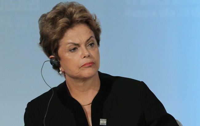 Фото: президент Бразилії Ділма Русеф