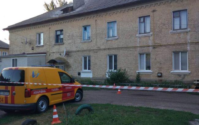 Под Киевом обвалилась крыша многоквартирного дома