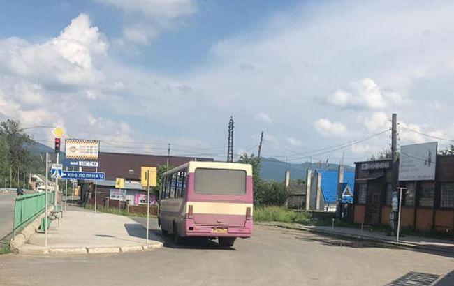 На Закарпатье курсировал межобластной автобус несмотря на карантин