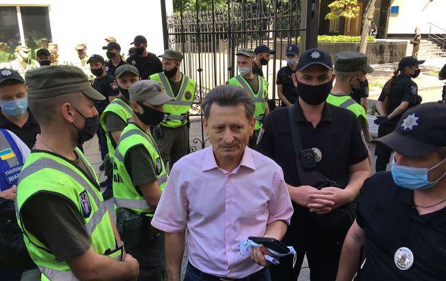 Полиция разгоняет шахтеров из-под Офиса президента, есть пострадавшие, - Волынец
