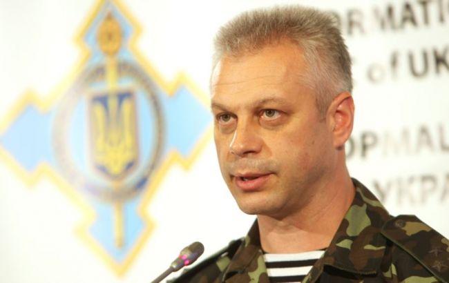В зоні АТО за добу поранено 10 українських військових, загиблих немає, - Лисенко