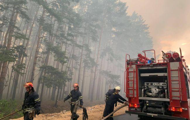 Названа можлива причина пожеж у Луганській області